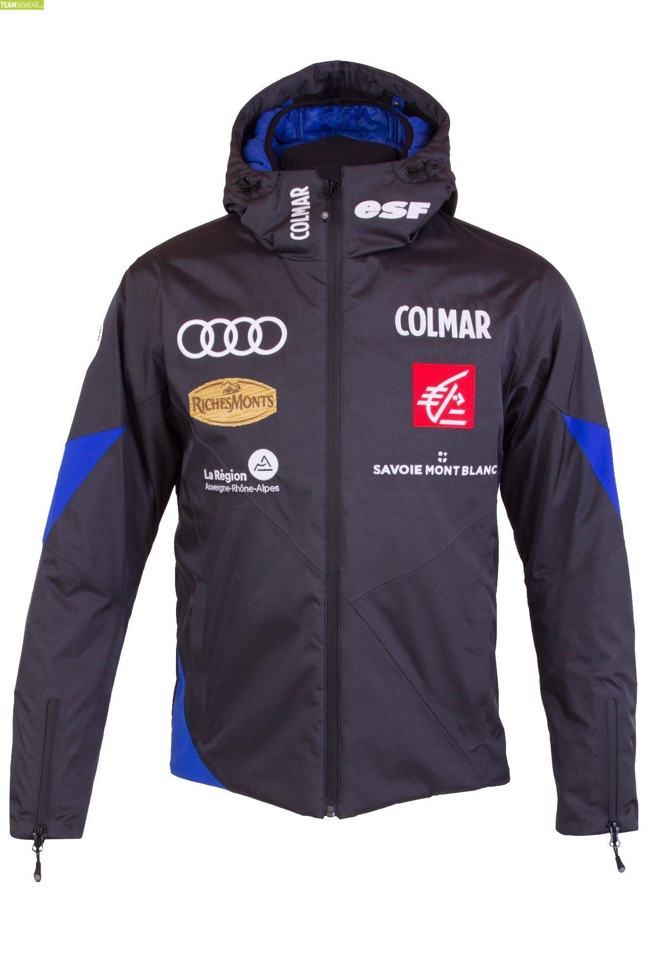 Colmar Men Moonlight French Team Jacket Grey Blue