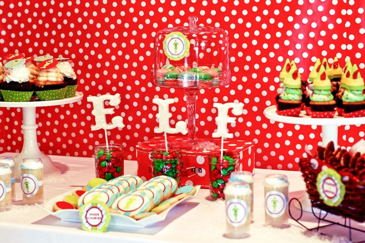 Christmas Themed Birthday Party Ideas Part - 16: Buddy The ELF Christmas Party! - Karau0027s Party Ideas - The Place For All  Things Party
