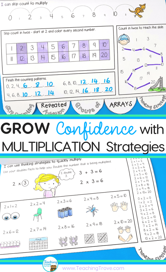 Master the Multiplication Facts with Effective Strategies | Repeated ...