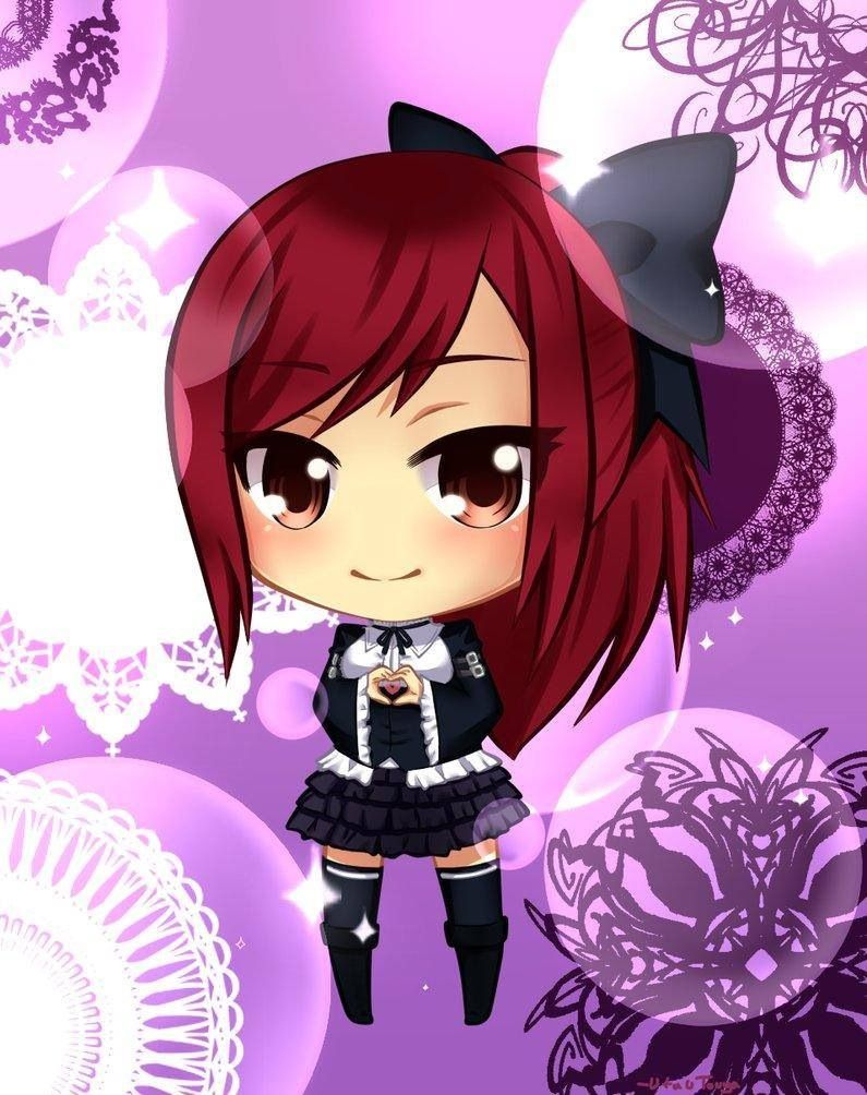 Chibi erza fairytail with images anime fairy tail