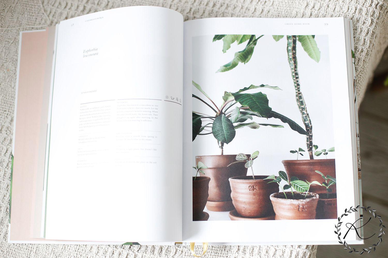 #kirjacorner / Green home book + arvonta | KUKKALA
