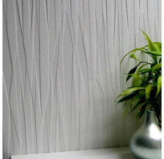 View The Brewster 437 RD80028 Folded Paper Paintable Textured Vinyl Wallpaper At LightingDirect