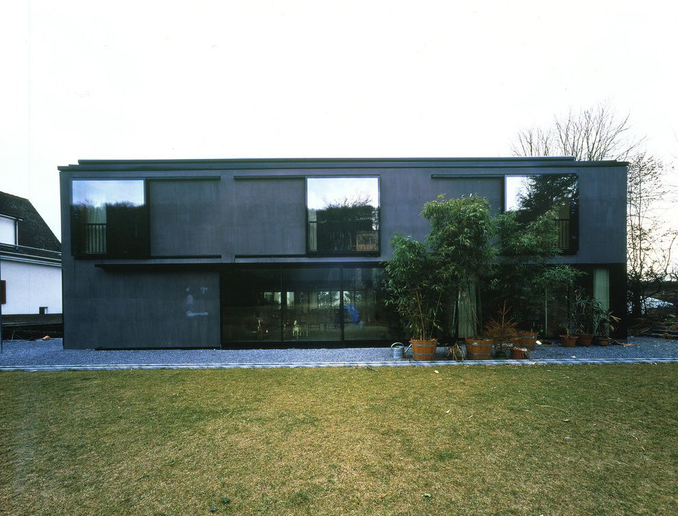 Subtilitas Herzog De Meuron Koechlin House Riehen 1994 Photos C Margerita Spiluttini Modern Townhouse House Architecture