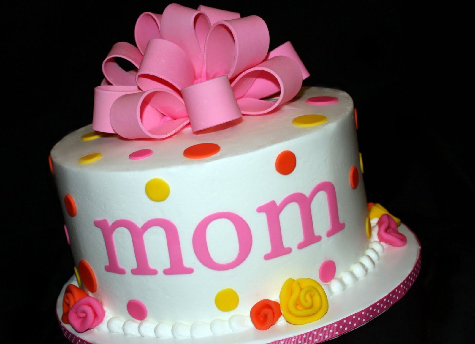 Pin cara menghias kue cake decorating cake on pinterest - Fun Cakes Mom Birthday Cake