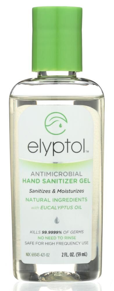 Elyptol Antimicrobial Hand Sanitizer Gel 2 Oz Hand Sanitizer