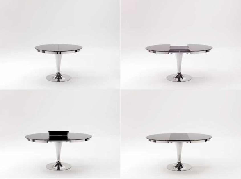 Tavoli trasformabili - Tavolo allungabile rotondo   luxury blanket ...