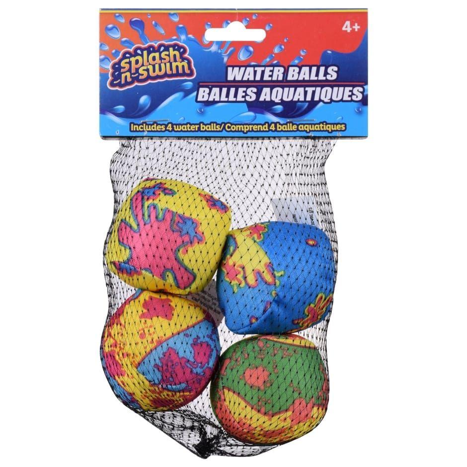 Splash-N-Swim Water Balls, 4-ct. Packs | Class Prizes ...