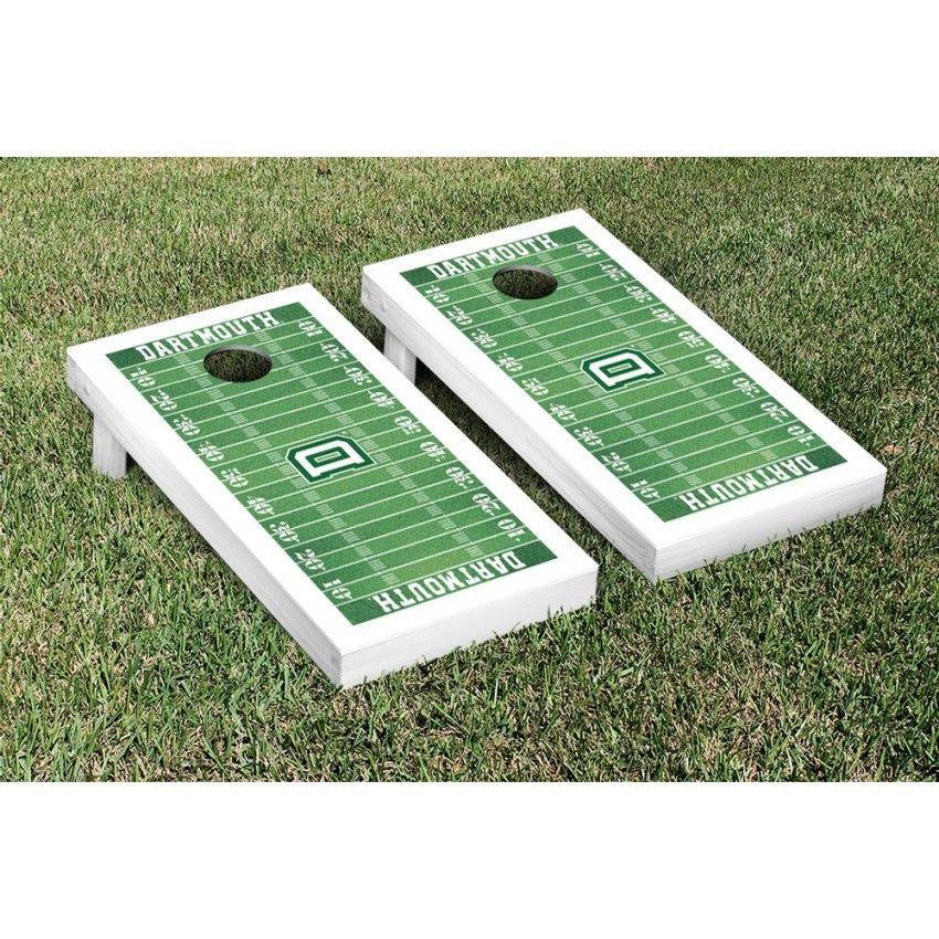 7f8547e7 Dartmouth College Big Green Cornhole Game Set Football Field Version from  TailgateGiant.com