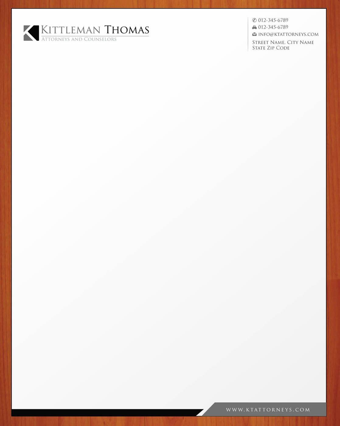 Legal Letterhead Design  Google Search  Graphic Design