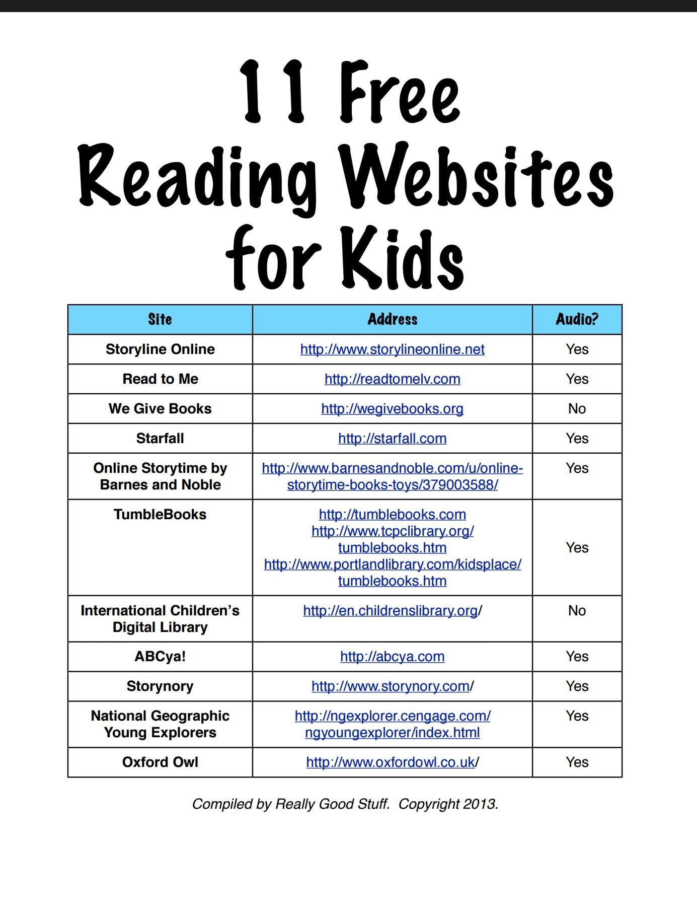 Pin By Christy Clow On 5th Grade Digital Learning Classroom Reading Websites For Kids Learning Websites For Kids What are some good reading websites