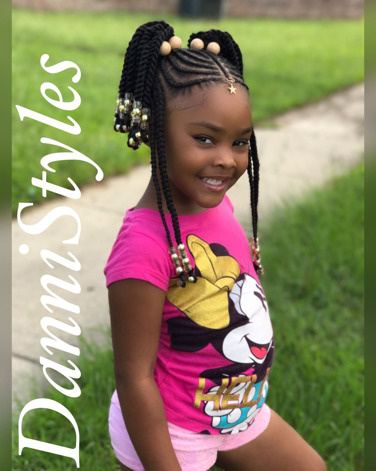 Tribal Braids for kids #DanniStyles | DanniStyles in 2019 ...