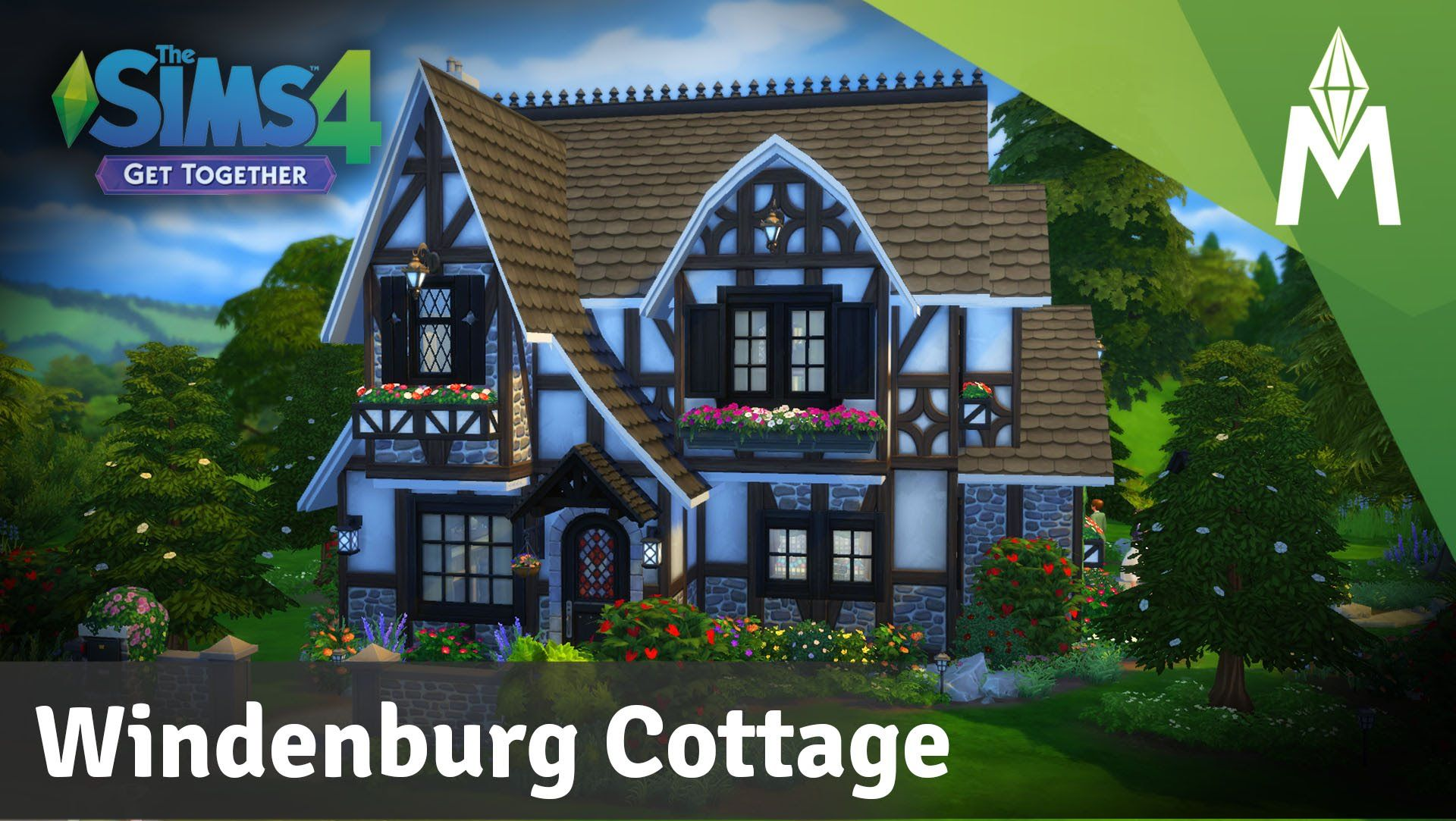 The Sims 4 House Building Windenburg Cottage