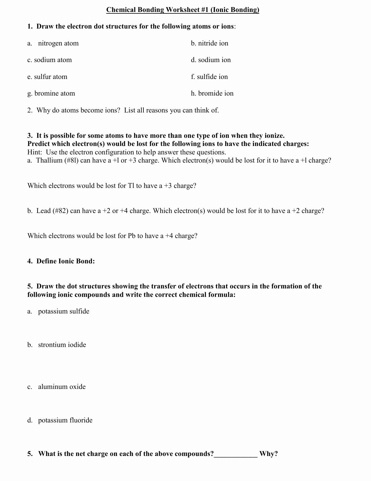 Lewis Structure Worksheet With Answers Inspirational Lewis