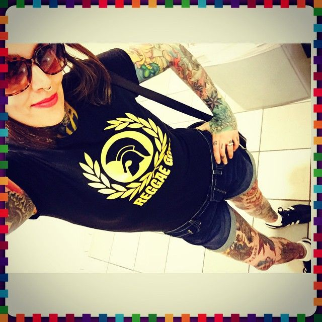 Reggae fever till I die! #skinhead #skinheadgirl #skinbyrd
