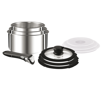 Stackable Pots And Pans From Tefal Essential For Space