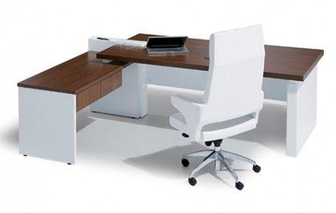 Escritorio presidencial cross estilo minimalista y for Sillones para escritorios oficina