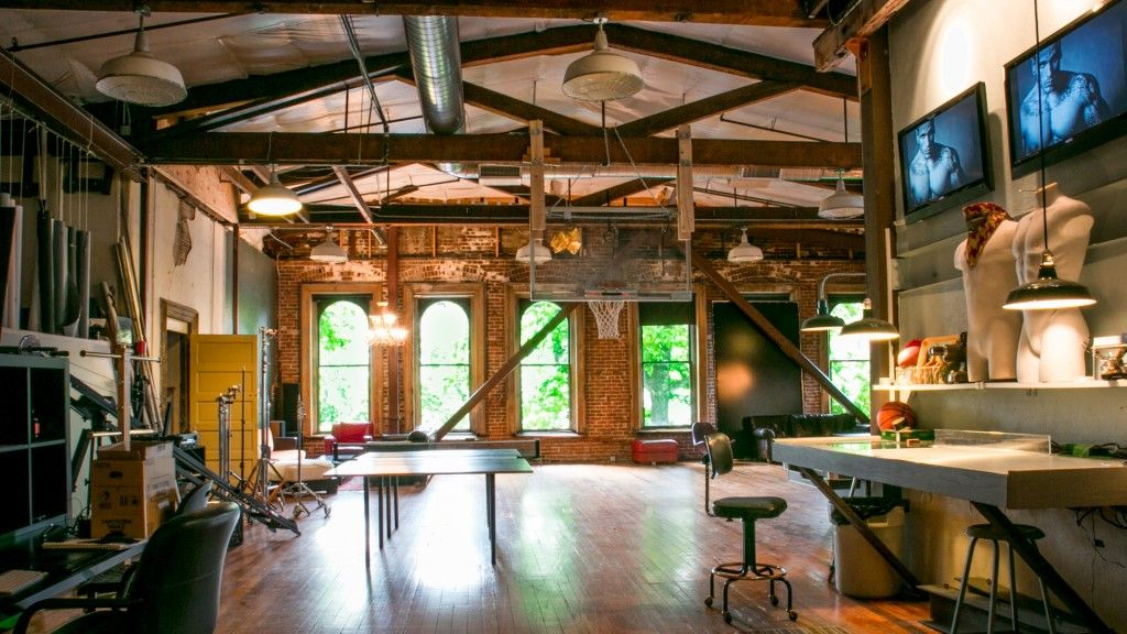 Downtown Office Space Industrial Lofts Pinterest Industrial
