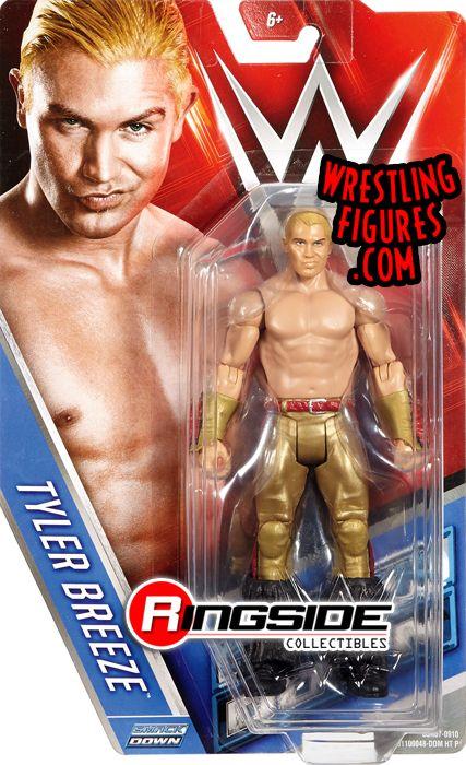 Mattel WWE Basic Series 66 Tyler Breeze Action Figure
