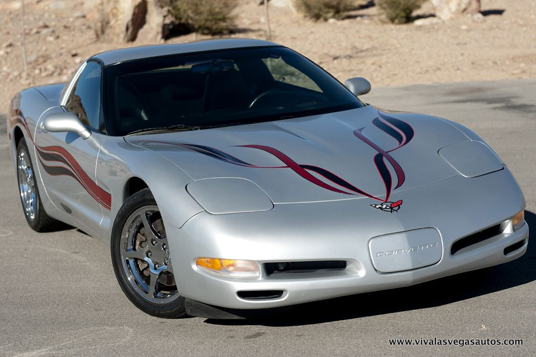 1999 Chevrolet Corvette with custom paint