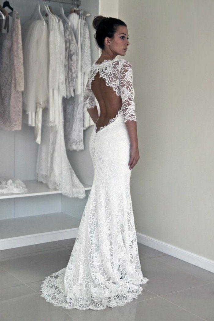 Rückenfreie Hochzeitskleider liegen voll im Trend   Wedding stuff ...