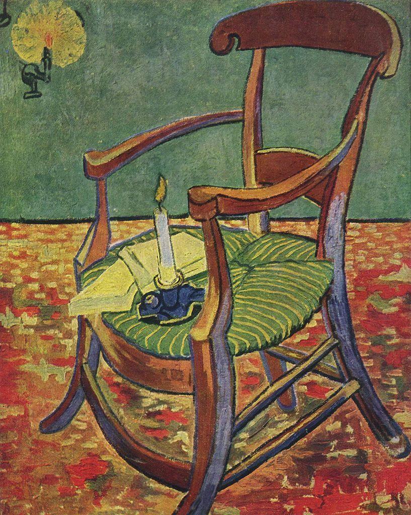 24x36 Vincent van Gogh Art Poster Gauguin/'s Chair