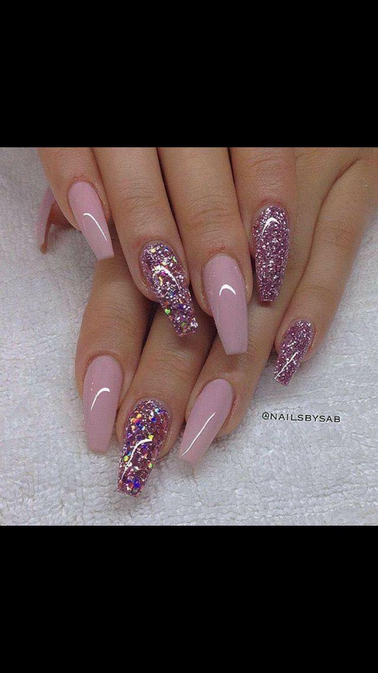 Pin by Eve Pozsonyi on Glitter Gel nails | Pinterest | American ...