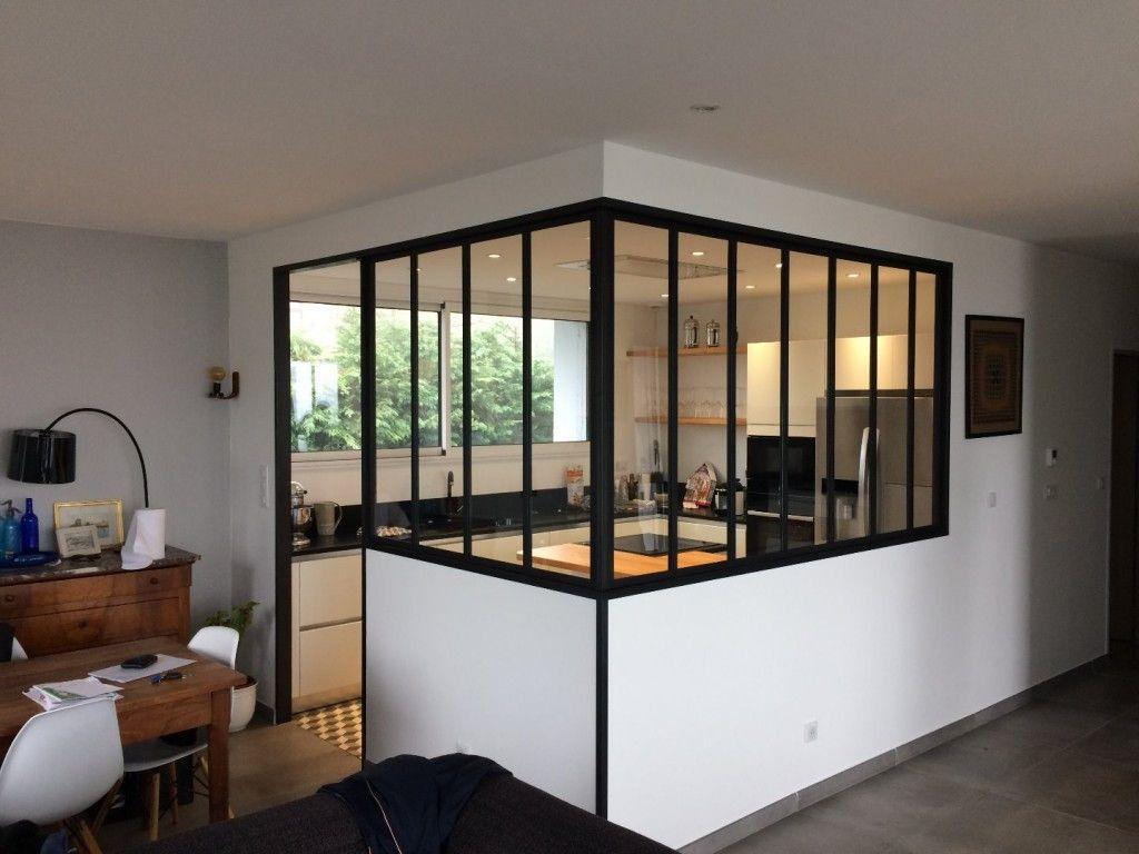 Etude fabrication et installation du vitrage d 39 une for Verriere metallique interieure