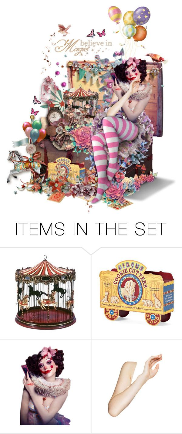"""""""Magic Toy Box"""" by girlinthebigbox ❤ liked on Polyvore featuring art, fantasy, magic, box, imagination and toys"""