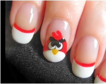 Uñas de Angry Birds ¿Ya viste nuestra colección de Edredones de Angry Birds?   http://vng.mx/BuscarProd.php?search=angry+birds