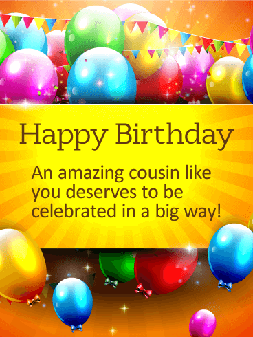 Birthday Wishes For Cousin Szletsnap Nvnap Pinterest Happy
