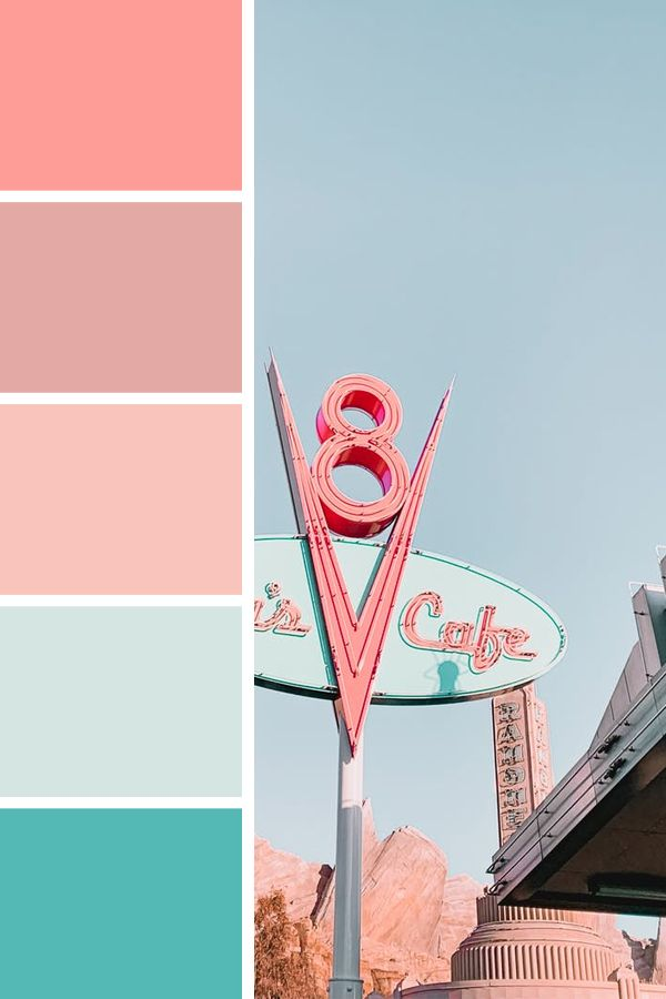 50's Diner - Color Palette