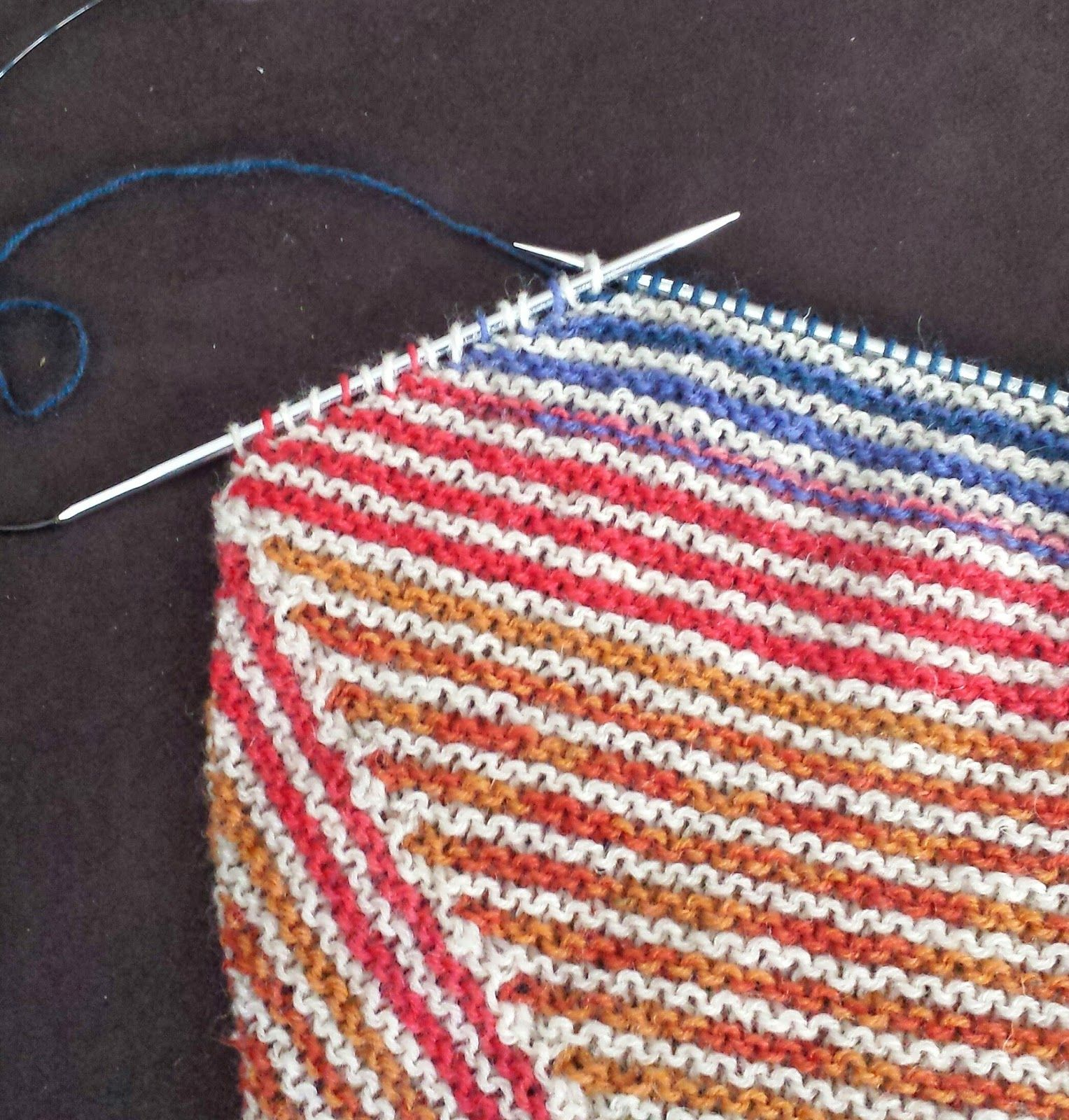 This light stripy spring scarf is knitted from side to side its patterns bankloansurffo Images