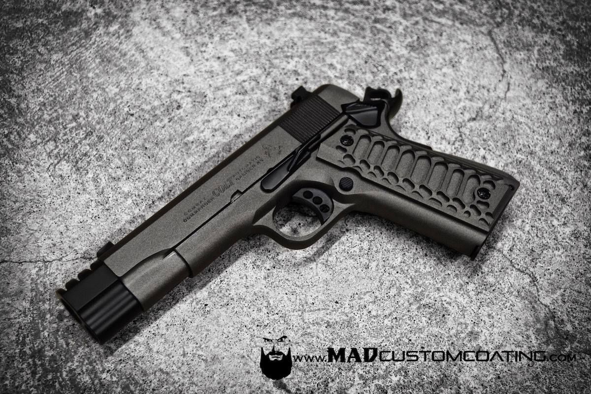 MAD Black Reliability Package on this Colt Firearms 1911