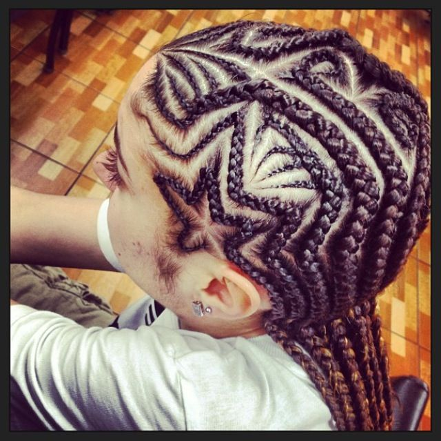 Little girls hair / braids/ protective hairstyle / cornrows ...