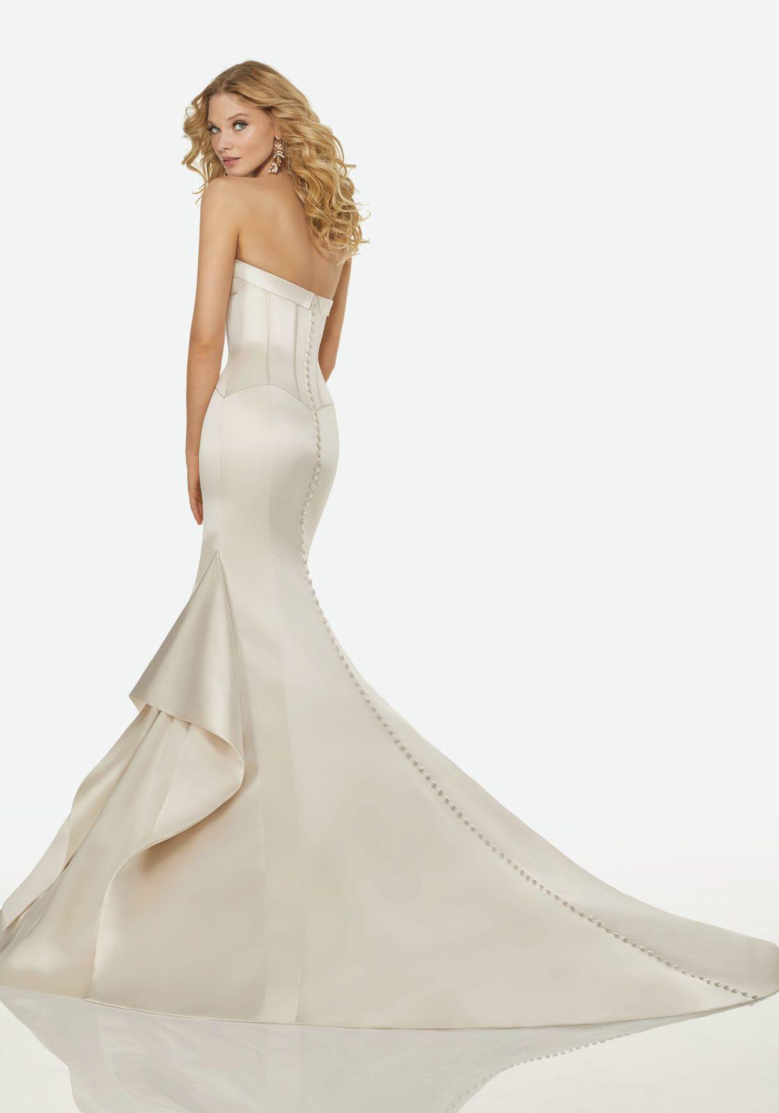 Layla Wedding Dress MEGA- like back!