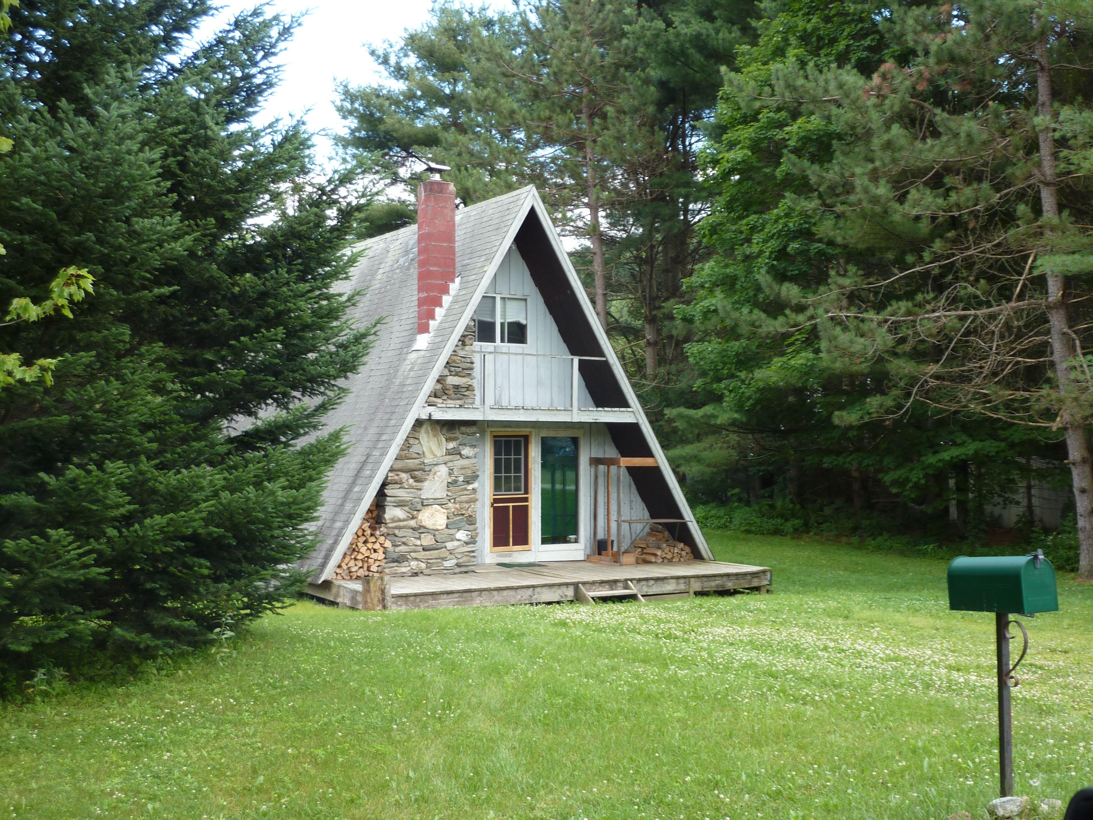 Vermont A-Frame | casas de madeira | Pinterest | Liebe, Architektur ...