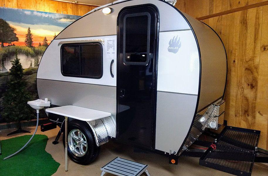 Polar Bear   Teardrop camper for sale, Campers for sale ...