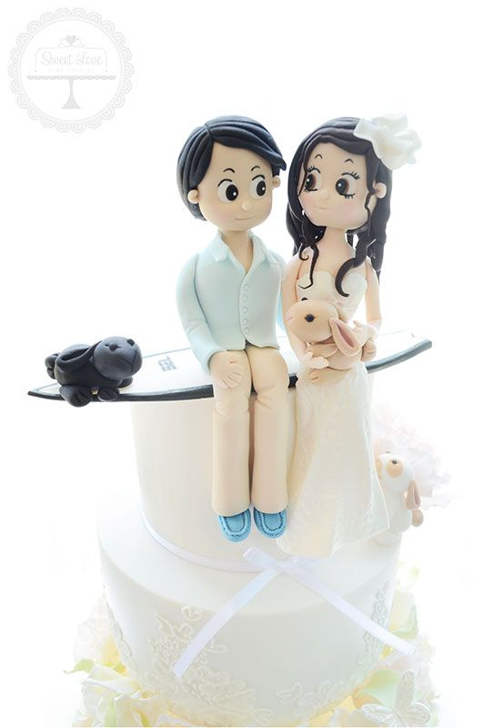 Sugar Figurines | Sweet Love Cake Couture - Coffs Harbour Wedding Cake Specialist