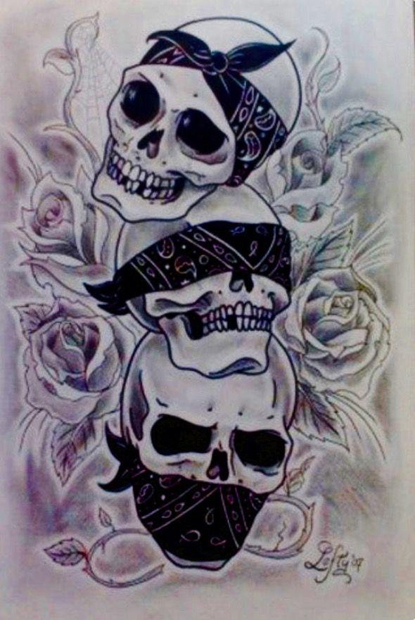The 3 Evils Hear Speak See No Evils Evil Skull Tattoo Skulls Drawing Evil Tattoos