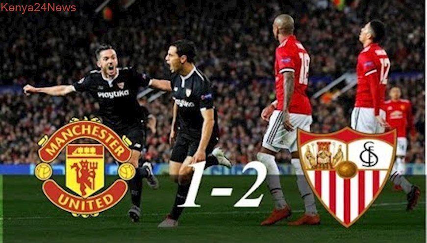 Manchester United Vs Sevilla 1 2 Highlights Ufc 13 3 2018 Manchester United Sevilla Ufc