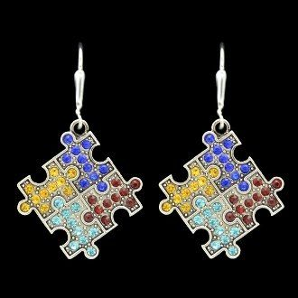 Crystal Earrings - Autism Puzzle Piece MadSportsStuff,http://www.amazon.com/dp/B00CQNFEEQ/ref=cm_sw_r_pi_dp_Xfr9sb0RES4HTGS6