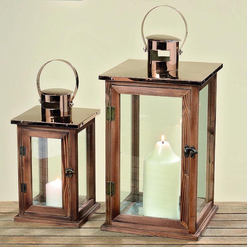 schicke dekorative laterne die mit ihrem strahlenden kupferdach alle blicke auf sich zieht. Black Bedroom Furniture Sets. Home Design Ideas