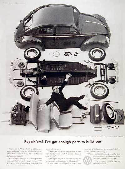 Vintage Vw Parts >> Vintage Vw Beetle Ads Cars And Bikes Vw Beetles Volkswagen Vw