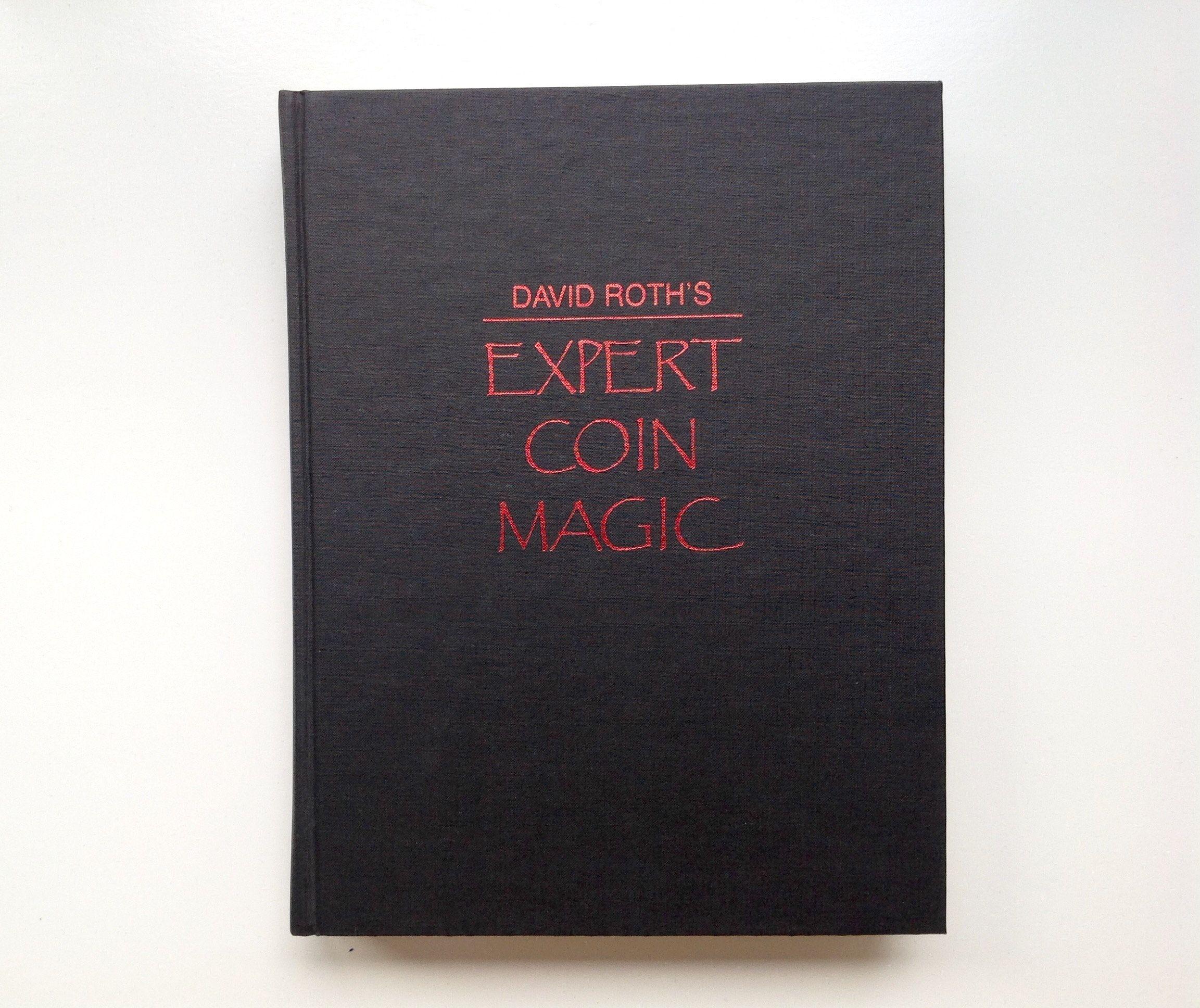 expert coin magic book