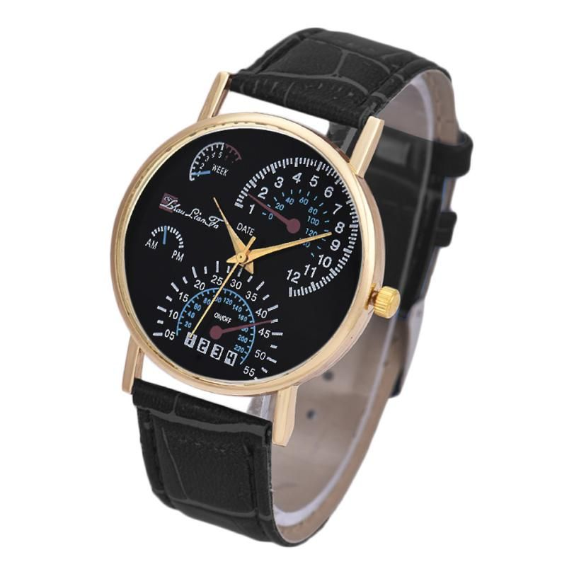 >> Click to Buy << Essential Wristwatch Bangle Bracelet Watches Men's Leather Band Analog Quartz Business Gift Sep29 #Affiliate