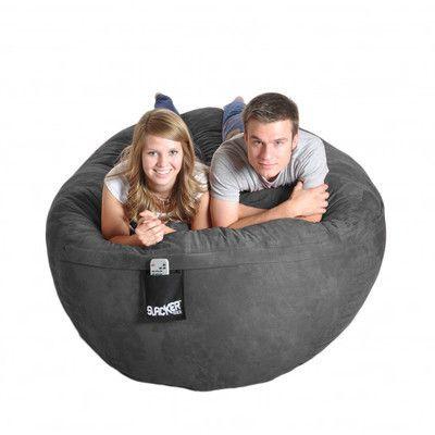 Ebern Designs Bean Bag Sofa | Bean bag sofa, Bean bag lounge