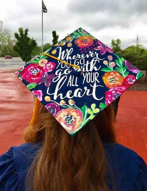 20 Best Graduation Cap Decoration Ideas & 20 Best Graduation Cap Decoration Ideas | Cap decorations Cap and ...