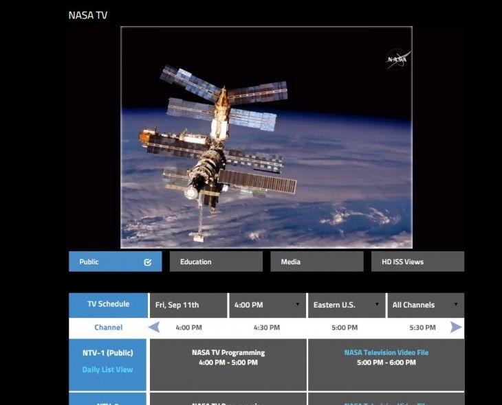 NASA se asocia con Harmonic para ofrecer un canal de TV 4k con el espacio como protagonista
