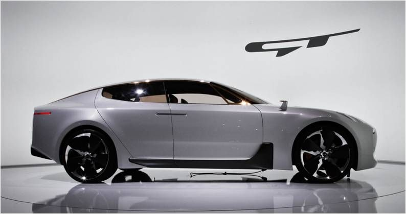 The 2017kia Gt Concept Will Be Hitting Showroom In The Future