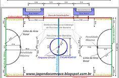 65189be9bdf83 Resultado de imagem para quadra de futsal desenho e medidas ...